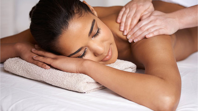A Woman Doing Massage Therapy