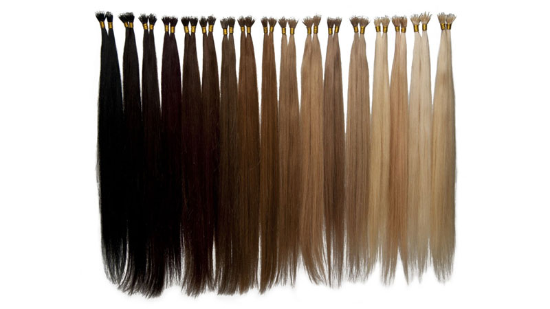Hair Extensions With Different Colors