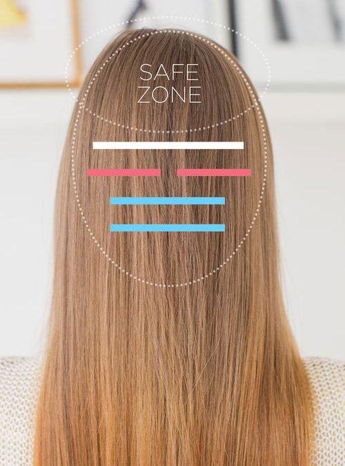 hair zones