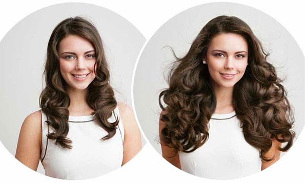 ladies with beautiful hair