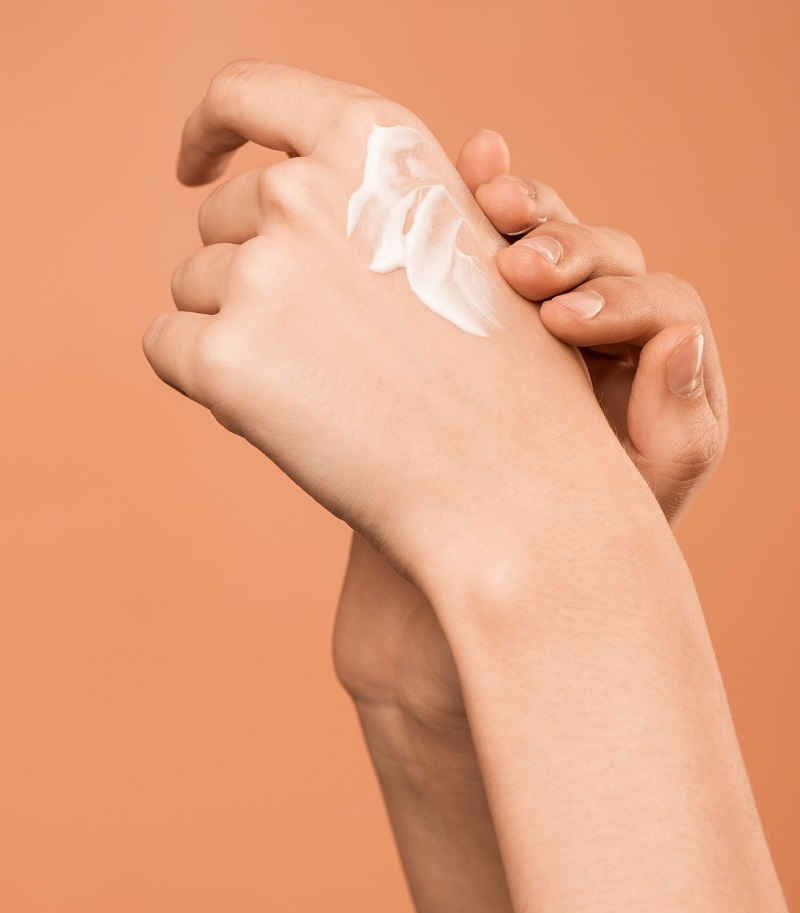 Use hand moisturizers